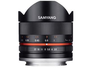 【納期にお時間がかかります】 SAMYANG/サムヤン 8mm F2.8 UMC FISH-EYE II (ブラック) ソニーE用 ※受注生産のため、キャンセル不可 【受注後、納期約2~3ヶ月かかります】【お洒落なクリーニングクロスプレゼント!】 魚眼レンズ