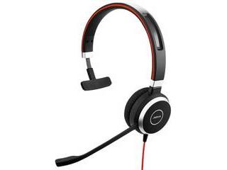 GNオーディオ PC向けモノラルヘッドセット(片耳タイプ) Jabra EVOLVE 40 UC Mono 6393-829-209 【納期にお時間がかかります】