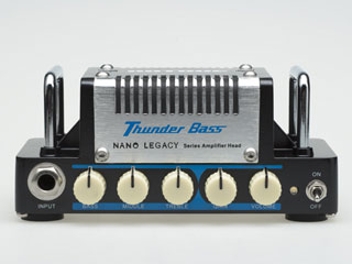 HOTONE/ホットーン 【納期未定】Thunder Bass (サンダー・ベース/ベースアンプヘッド) ギターアンプ 【HOTONE】 Ampeg SVTのサウンドを再現! 【HOTONEAMP】