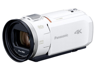 Panasonic/パナソニック HC-VZX1M-W(ホワイト) デジタル4Kビデオカメラ 【ビデオカメラ】