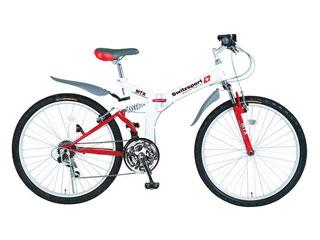スウィツスポート スウィツスポート 26型 折りたたみ自転車(LEDライト付)  SW-MA26L/PB-R8