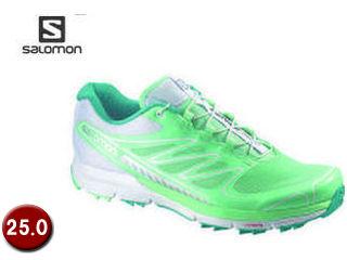 SALOMON/サロモン L36981200-C8921 SENSE PRO W 【25.0】 (LUCITE GREEN/White/PEACOCK BLUE)
