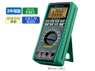 KYORITSU/共立電気計器 キューマルチメータ 1052 デジタルマルチメータ