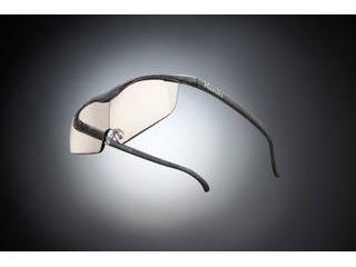 Hazuki Company/ハズキ 【Hazuki/ハズキルーペ】メガネ型拡大鏡 ラージ カラーレンズ 1.85倍 ブラックグレー 【ムラウチドットコムはハズキルーペ正規販売店です】