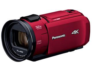 Panasonic/パナソニック HC-VZX1M-R(レッド) デジタル4Kビデオカメラ 【ビデオカメラ】
