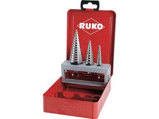 RUKO/ルコ 3枚刃ステップドリル 3本組セット 101326