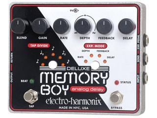 【nightsale】 electro harmonix/エレクトロハーモニクス Deluxe Memory Boy アナログディレイ エフェクター 【国内正規品】