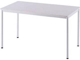 R.F.YAMAKAWA/アール・エフ・ヤマカワ 【代引不可】RFシンプルテーブル W1200×D700 ホワイト RFSPT-1270WH