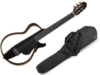 YAMAHA/ヤマハ サイレントギター SLG200N トランスルーセントブラック(TBL) 【専用ソフトケース付】
