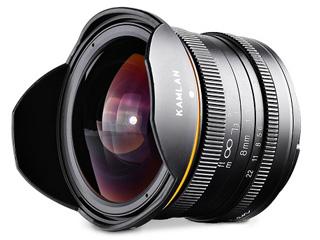 KAMLAN/カムラン KAM0004 KAMLAN 8mm F3.0 (Canon-M)  キヤノン EOS Mマウント