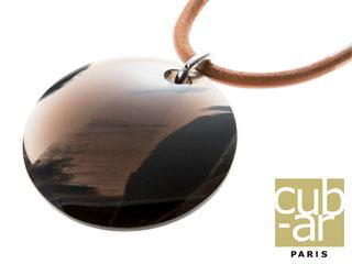 cub-ar/キュバール Grand Pendentif Cuir(グランド パンダンティフ キュイール) ネックレス