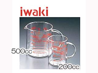 AGCテクノグラス 耐熱ガラス製 レンジメジャーカップ まとめ買い特価 KMC-500 驚きの値段で 500