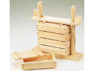 YAMACO/ヤマコー 木製 押し寿司 5段セット(桧材)