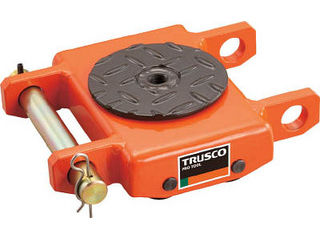 TRUSCO/トラスコ中山 【代引不可】オレンジローラー ウレタン車輪付 低床型 2TON TUW-2T