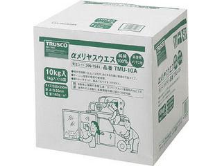 TRUSCO/トラスコ中山 αメリヤスウエス 汎用タイプ (10kg入) TMU-10A