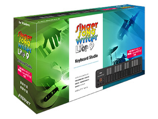 INTERNET/インターネット Singer Song Writer Lite 9 Keyboard Studio 【SSWLT90W-KS】 シンガーソングライターライト9 【SSWLT9】