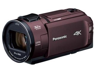 Panasonic/パナソニック HC-WZX2M-T(カカオブラウン) デジタル4Kビデオカメラ ビデオカメラ