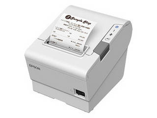 EPSON/エプソン 【納期未定】サーマルレシートプリンター/80mm・58mm兼用/USB・有線LAN・Bluetooth/ホワイト TM886B502W