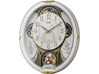 RHYTHM/リズム時計 4MN509MC03 【ミッキー&フレンズM509】 電波からくり掛け時計 メロディー/からくり (c)Disney 【RPS160301】
