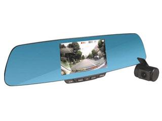 エンプレイス ミラー型リアカメラ搭載ドライブレコーダー ブラック NDR-RC177M 38323