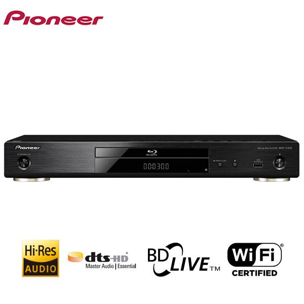 PIONEER/パイオニア BDP-X300(B) ブルーレイディスク/DVDプレーヤー
