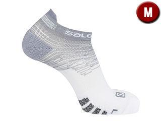 つま先から足首までソフトで快適な履き心地 SALOMON 大放出セール サロモン PREDICT LOW LC1345900 初売り WHITE Mサイズ ソックス