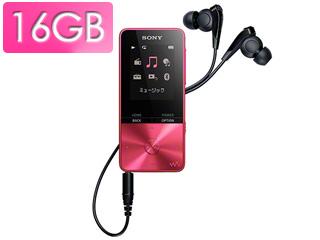 SONY/ソニー NW-S315-P(ビビットピンク) 16GB ウォークマン Sシリーズ(メモリータイプ)