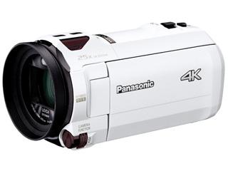 Panasonic/パナソニック HC-VZX990M-W(ホワイト) デジタル4Kビデオカメラ 【内蔵メモリー64GB/光学20倍ズーム/あとから補正】 【ビデオカメラ】