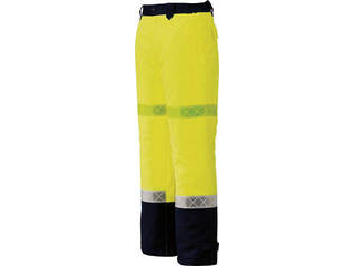 XEBEC/ジーベック 800 高視認防水防寒パンツ 3Lサイズ イエロー 800-80-3L