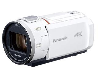 Panasonic/パナソニック HC-VZX2M-W(ピュアホワイト) デジタル4Kビデオカメラ ビデオカメラ