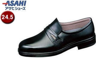 PKSS06 ASAHI/アサヒシューズ AM31251 TK31-25 通勤快足 メンズ・ビジネスシューズ【24.5cm・4E】 (ブラック)