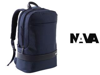 NAVA/ナヴァ EP072 バックパック ラージ 【ナイトブラック】 Easy + BackPack Large バッグ ビジネス 鞄 イタリア バックパック リュック