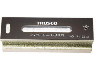 TRUSCO/トラスコ中山 平形精密水準器 B級 寸法150 感度0.02 TFL-B1502