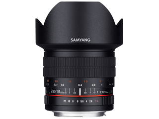 【納期にお時間がかかります】 SAMYANG/サムヤン 10mm F2.8 ED AS NCS CS キヤノンEOS用 【お洒落なクリーニングクロスプレゼント!】