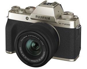 FUJIFILM/フジフイルム F X-T200LK-G(シャンパンゴールド) FUJIFILM X-T200レンズキット
