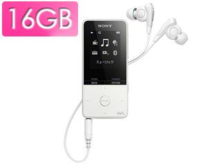SONY/ソニー NW-S315-W(ホワイト) 16GB ウォークマン Sシリーズ(メモリータイプ)