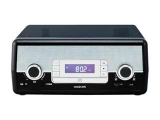 KOIZUMI/コイズミ SAD-9801-K(ブラック) マルチレコードプレーヤー