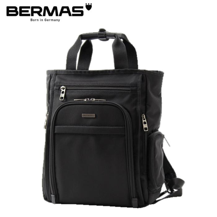 BERMAS/バーマス 60443 FUNCTION GEAR PLUS BRIEF 縦型2WAYトートバッグ (ブラック)
