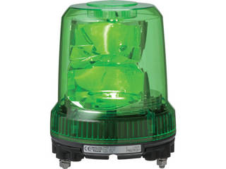 【組立・輸送等の都合で納期に4週間以上かかります】 PATLITE/パトライト 【代引不可】強耐振型LED回転灯 RLR-M2-P-Y