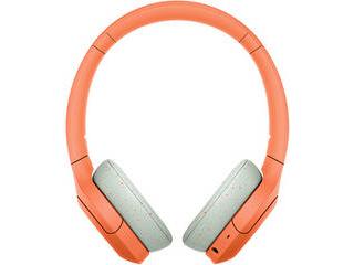 SONY/ソニー ワイヤレスステレオヘッドセット オレンジ WH-H810D