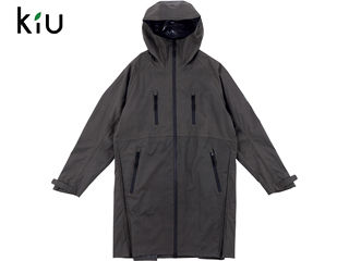 kiu/キウ K60-913 マルチ ファンクショナル レインジャケット 【フリーサイズ】 (グレー)