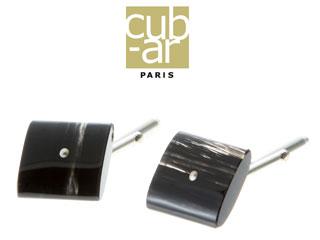 cub-ar/キュバール Boutons de manchettes(ブトン ドゥ マンシェット) カフリンクス