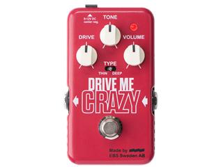 EBS/イービーエス EBS-DMC DRIVE ME CRAZY Distortion/Overdrive【Blue Label】