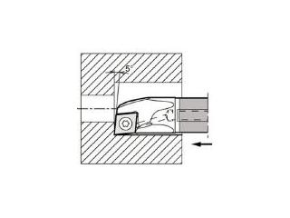 KYOCERA/京セラ 内径加工用ホルダ E12Q-SCLCR06-14A