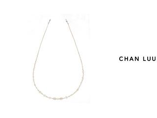 CHAN LUU/チャンルー セミプレシャスストーン ネックレス NS-13314(WHITE MIX) チャンルーオリジナル巾着袋付き!