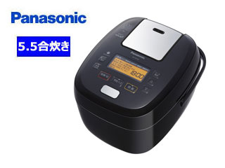 Panasonic/パナソニック SR-PA108-K 可変圧力IHジャー炊飯器 【5.5合炊き】(ブラック)