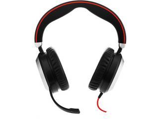 GNオーディオ PC向けステレオヘッドセット(両耳タイプ) Jabra EVOLVE 80 UC Stereo 7899-829-209 【納期にお時間がかかります】