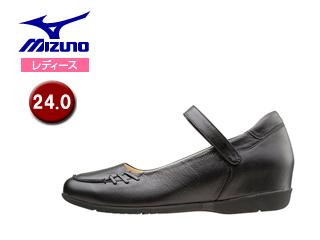 mizuno/ミズノ B1GH1567-09 レディースウォーキングシューズ SELECT505 【24.0】 (ブラック)