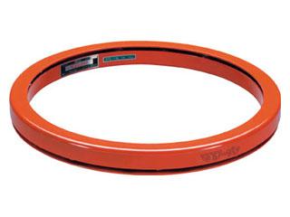 TAIYU/大阪タイユー 【代引不可】回転台マワール ライトタイプ オレンジ 700kg 直径600mm PTL-60
