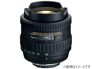 TOKINA/トキナー AT-X 107 DX Fish Eye 10-17mm F3.5-4.5 (ニコン用) 【お洒落なクリーニングクロスプレゼント!】